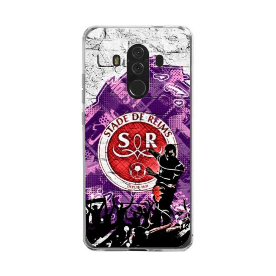Coque silicone Huawei MATE 20 LITE Fan d'Overwatch Reinhardt super hero