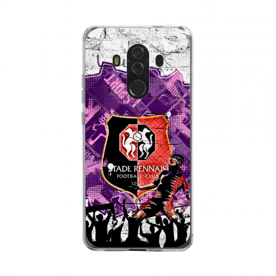 Coque silicone Huawei MATE 20 LITE Fan d'Overwatch Pharah super hero