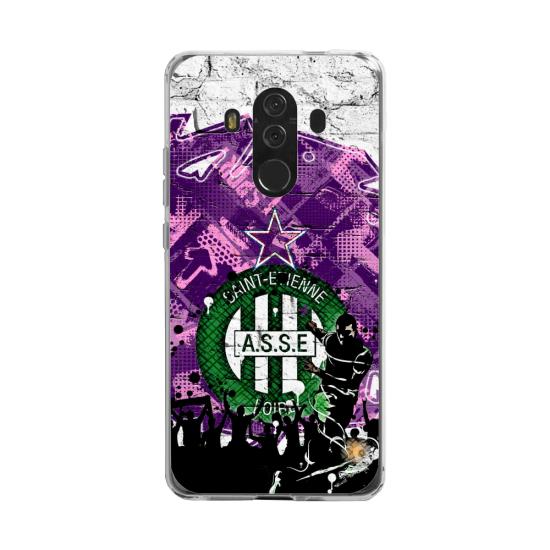 Coque silicone Huawei MATE 20 LITE Fan d'Overwatch Orisa super hero
