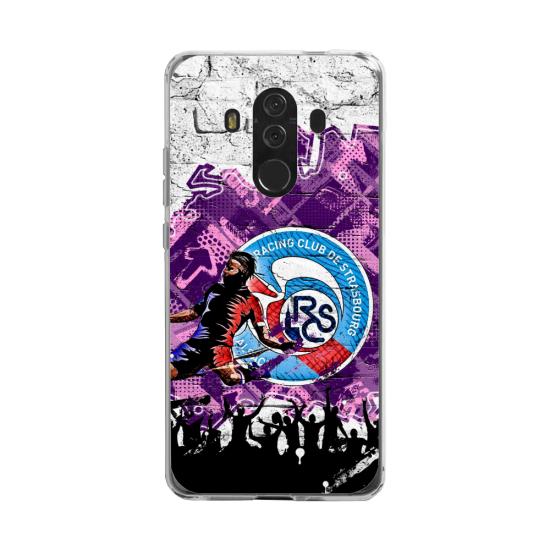 Coque silicone Huawei MATE 20 LITE Fan d'Overwatch Moira super hero