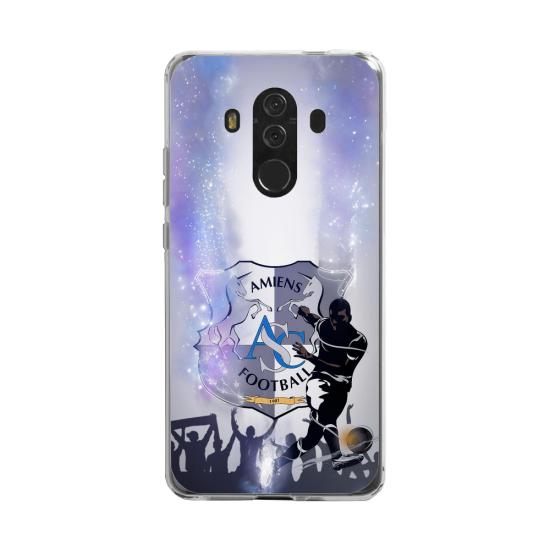 Coque silicone Huawei MATE 20 LITE Fan d'Overwatch McCree super hero