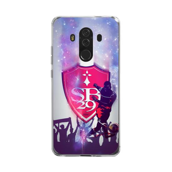 Coque silicone Huawei MATE 20 LITE Fan d'Overwatch Genji super hero