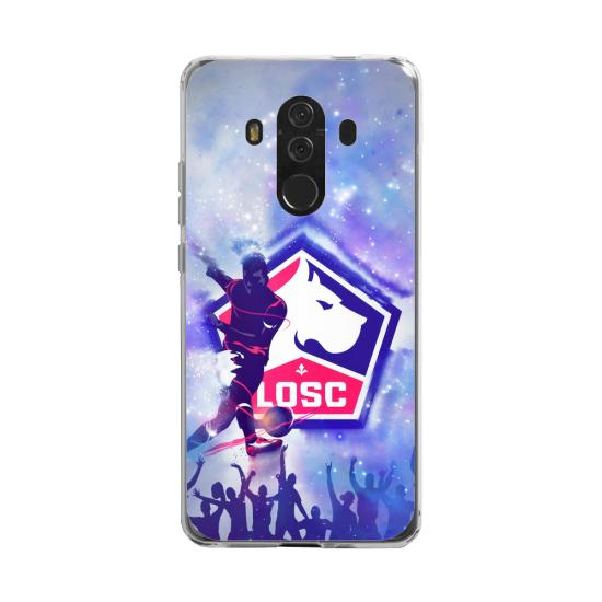 Coque silicone Huawei MATE 20 LITE Fan d'Overwatch Fatale super hero