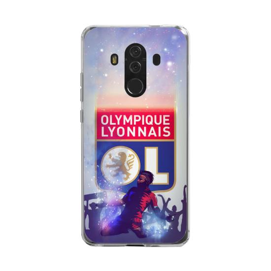 Coque silicone Huawei MATE 20 LITE Fan d'Overwatch Doomfist super hero