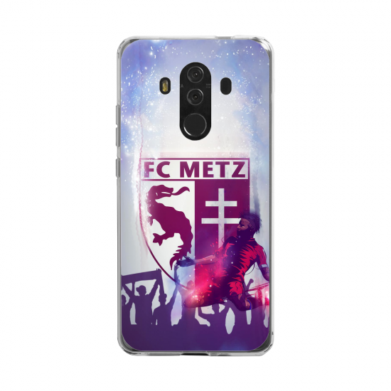 Coque silicone Huawei MATE 20 LITE Fan d'Overwatch Choppeur super hero