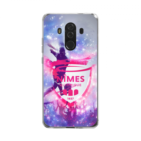 Coque silicone Huawei MATE 20 LITE Fan d'Overwatch Baptiste super hero