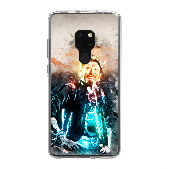 Coque Silicone Galaxy S20 PLUS verre trempé  lion mandala