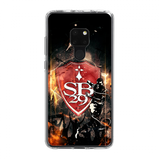 Coque silicone Huawei P30 LITE  lion mandala