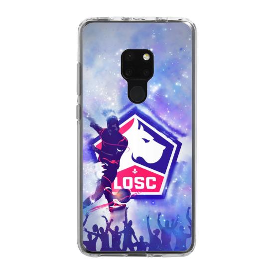 Coque silicone Galaxy A50 cerf mandala