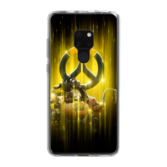 Coque silicone Huawei Mate 20 PRO cerf mandala