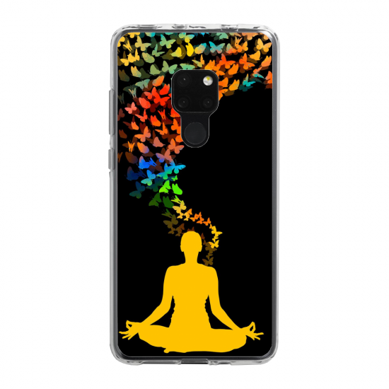 Coque silicone Iphone 6 PLUS Verre Trempé chouette mandala