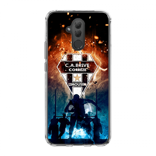 Coque silicone Iphone X/XS chouette mandala