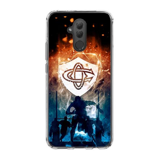 Coque silicone Iphone X/XS verre trempé chouette mandala