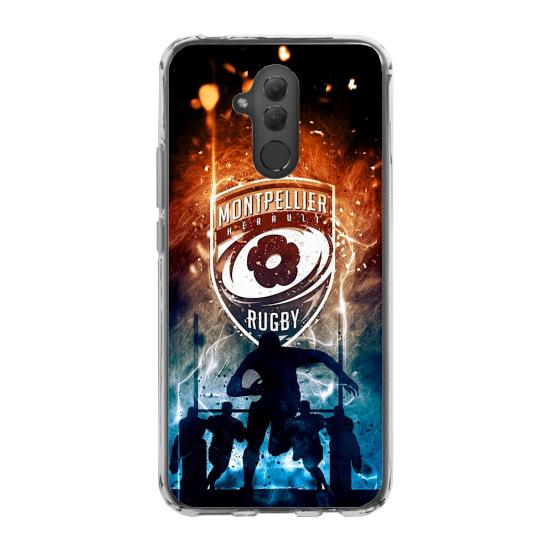 Coque silicone Iphone XS MAX Verre Trempé chouette mandala