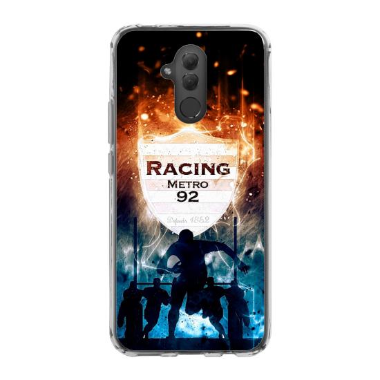 Coque silicone Iphone 11 verre trempé chouette mandala