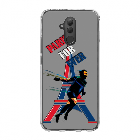 Coque silicone Galaxy A50 chouette mandala