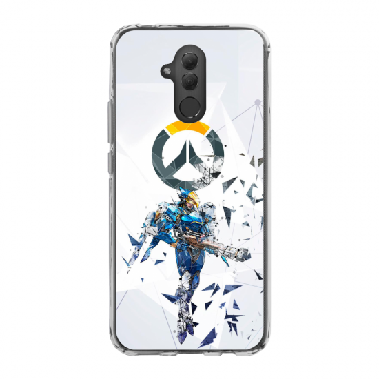 Coque silicone Iphone 6 PLUS Hibou mandala