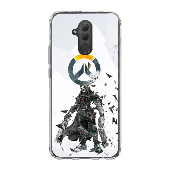 Coque silicone Iphone 6 PLUS Verre Trempé Hibou mandala