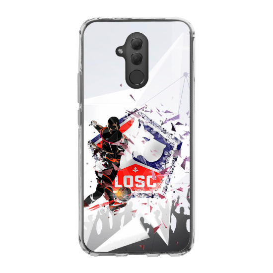 Coque silicone Iphone SE 2020 Hibou mandala