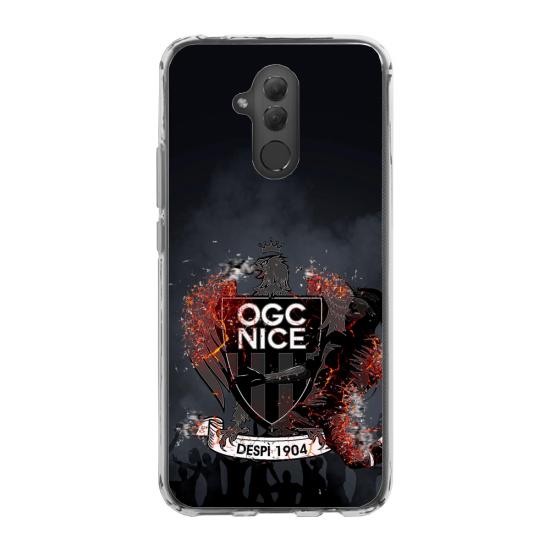 Coque silicone Galaxy A50 Hibou mandala
