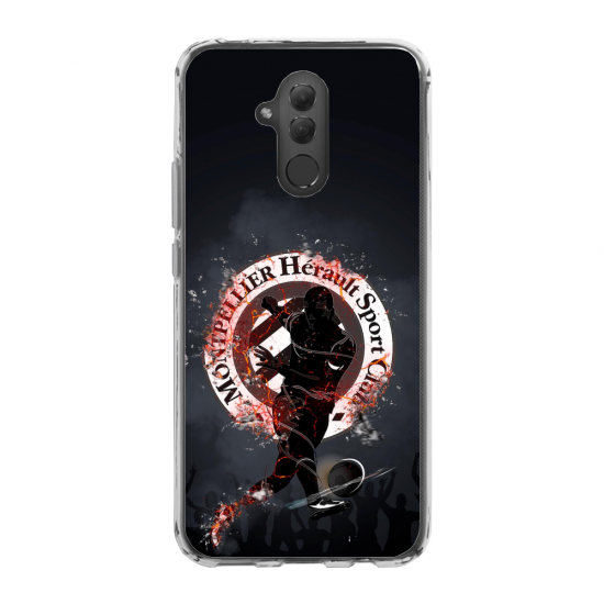 Coque silicone Galaxy A51 Hibou mandala