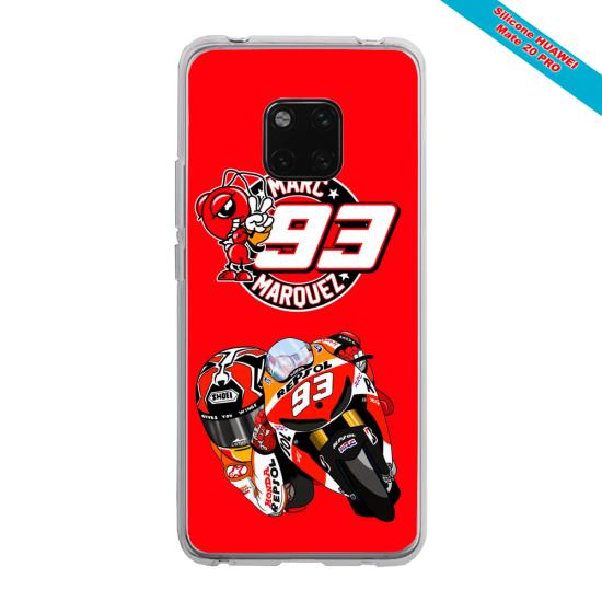 Coque Silicone Note 10 Papillon de nuit mandala