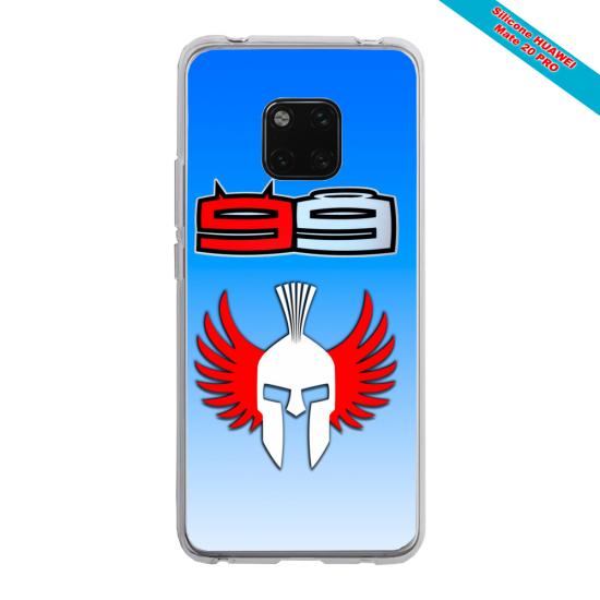 Coque Silicone Galaxy S20 PLUS verre trempé Papillon de nuit mandala
