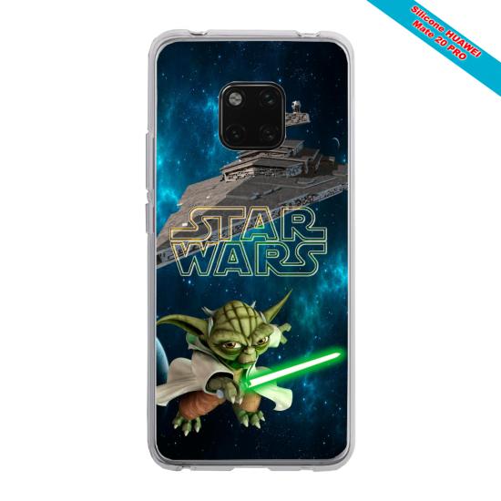 Coque Silicone Galaxy S20 PLUS Papillon de nuit mandala