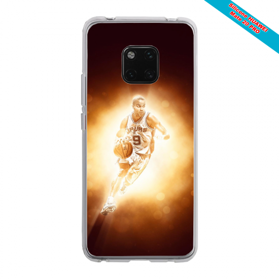 Coque Silicone Galaxy S20 verre trempé Papillon de nuit mandala