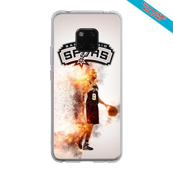 Coque Silicone Galaxy S20 Papillon de nuit mandala