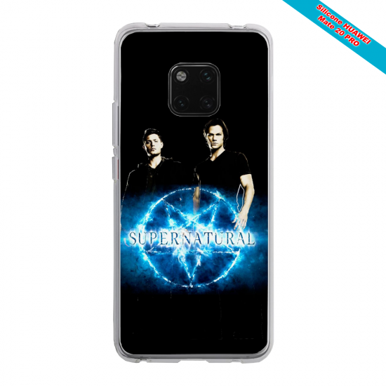 Coque Silicone Galaxy S9 PLUS Papillon de nuit mandala