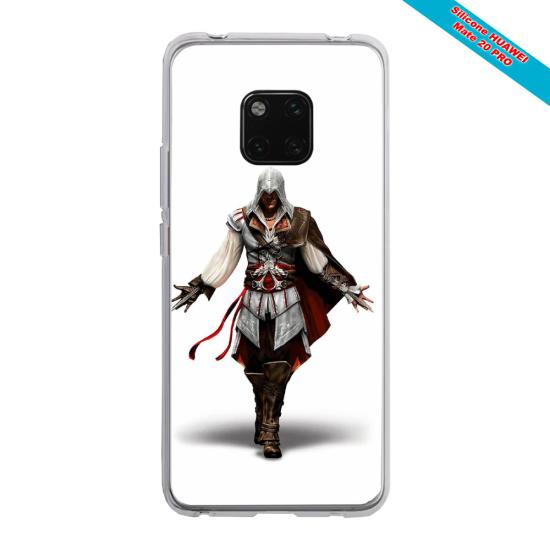 Coque Silicone Galaxy S8 PLUS Papillon de nuit mandala