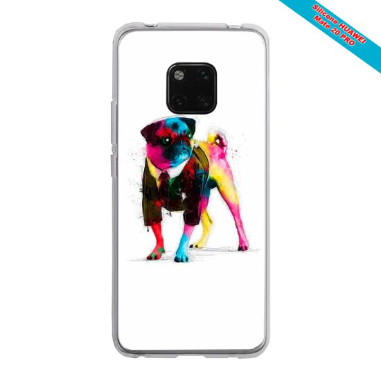 Coque Silicone Galaxy S8 Papillon de nuit mandala