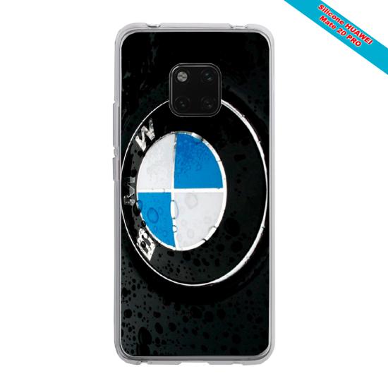 Coque Silicone Galaxy S6 EDGE Papillon de nuit mandala