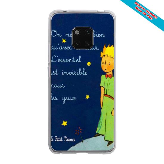 Coque silicone Galaxy J7 2017 Papillon de nuit mandala