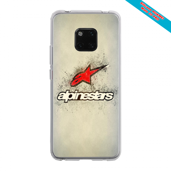 Coque silicone Galaxy J6 Papillon de nuit mandala