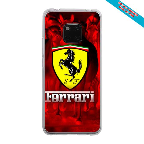 Coque silicone Galaxy J5 2017 Papillon de nuit mandala