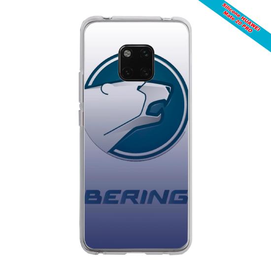 Coque silicone Galaxy J4 PLUS Papillon de nuit mandala