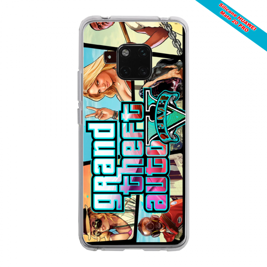 Coque silicone Galaxy J3 2018 Papillon de nuit mandala