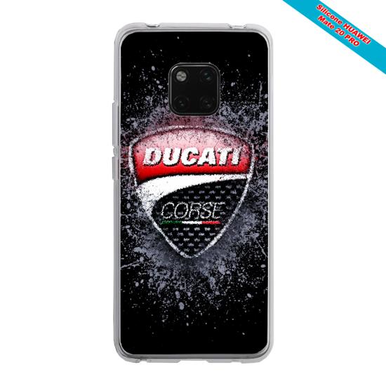 Coque silicone Galaxy J3 2017 Papillon de nuit mandala