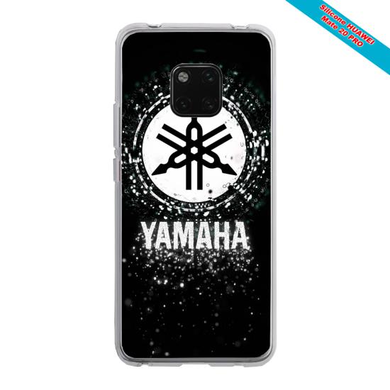 Coque silicone Iphone 12 PRO MAX Papillon de nuit mandala