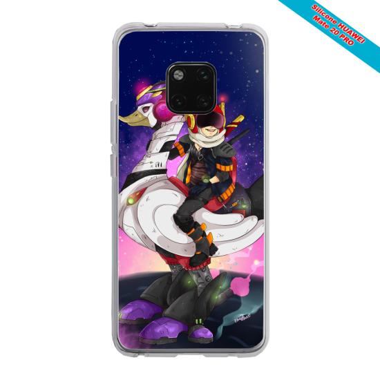 Coque silicone Iphone 11 Pro Max Papillon de nuit mandala