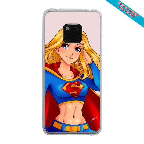 Coque silicone Iphone 11 Pro verre trempé Papillon de nuit mandala