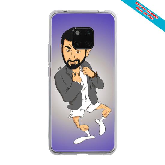 Coque silicone Iphone 11 Pro Papillon de nuit mandala