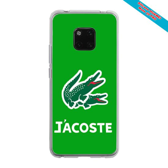 Coque silicone Iphone 11 verre trempé Papillon de nuit mandala