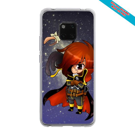 Coque silicone Iphone XS MAX Verre Trempé Papillon de nuit mandala