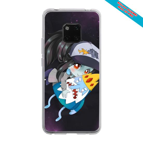 Coque Silicone iphone 7/8 PLUS Papillon de nuit mandala