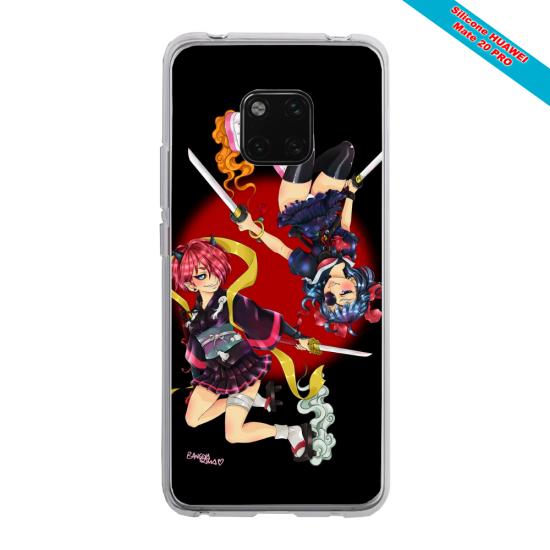 Coque Silicone iphone 7/8 Papillon de nuit mandala