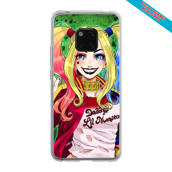 Coque silicone Iphone 6 PLUS Verre Trempé Papillon de nuit mandala