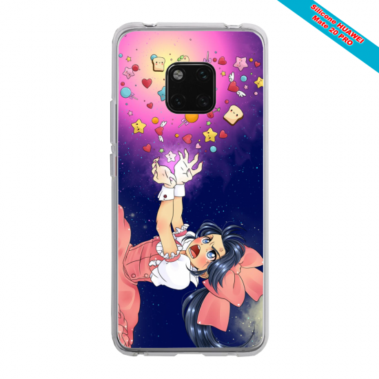 Coque silicone Iphone 6 PLUS Papillon de nuit mandala